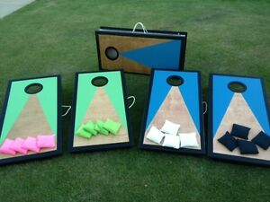 Cornhole/Beanbag Toss Game. Great Gift idea, Fun for All!!