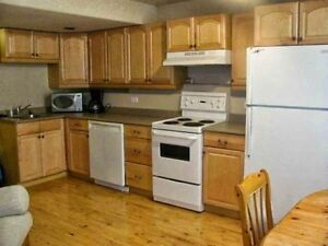 Sylvan Lake Lower suite 1/2 block to beach Utilities included