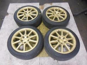Subaru 5X114 Wheels Tires Jdm Jante wrx sti