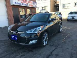 2015 Hyundai Veloster,NAVIGATION,PANORAMIC SUNROOF