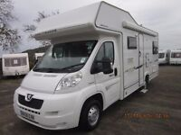 2008 COMPASS AVANTE GARDE 180 6 BERTH MOTORHOME WITH ONLY 16K MILES ANDERSON MOTORHOME SALES