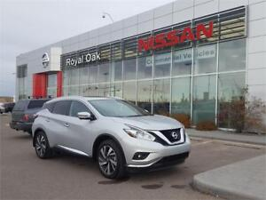 2017 Nissan Murano Platinum AWD 3.5L **3 TO CHOOSE FROM**