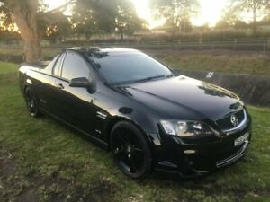 2012 Holden Commodore VE II MY12 SV6 Thunder Black 6 Speed Manual Utility Mayfield East Newcastle Area Preview