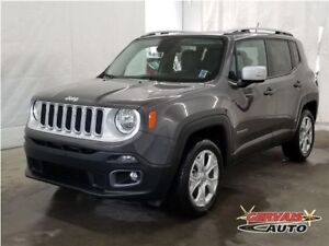 Jeep Renegade Limited 4x4 GPS Cuir Toit Ouvrant MAGS 2017