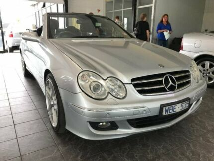2007 Mercedes-Benz CLK280 A209 MY08 Avantgarde Silver 7 Speed Automatic Cabriolet Maidstone Maribyrnong Area Preview