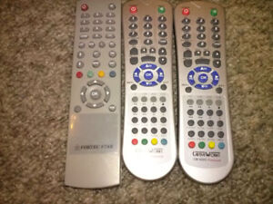Various FTA Satellite Receivers