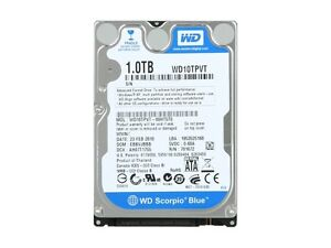 """WD Scorpio Blue 1TB 2.5"""" Hard Drive (not working, selling as-is)"""