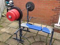 Weight Bench - 52kg