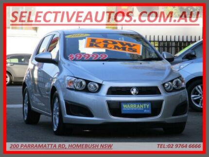 2012 Holden Barina TM MY13 CD Silver 6 Speed Automatic Hatchback Homebush Strathfield Area Preview