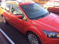 Ford focus Titanium Estate 1.6 diesel
