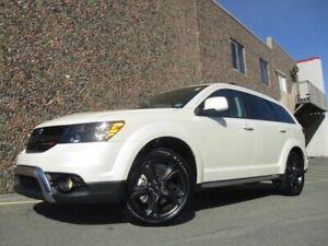 2018 Dodge Journey ULTIMATE CROSSROAD AWD DVD & NAV (JUST $26977