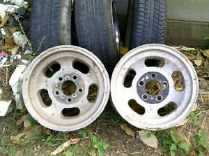 """Old school 5 x 110 PCD 6"""" & 7"""" Jellybean Mags 14"""" 73mm bore Keperra Brisbane North West Preview"""