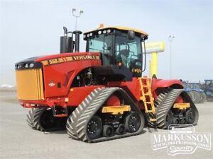 "2017 Versatile 550DT Tractor No DEF, PTO, 36"" Tracks, 110gpm Hyd"