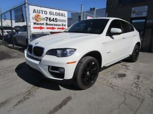 BMW X6 AWD 4dr 35i Mags 20 po Cuir Rouge 2013