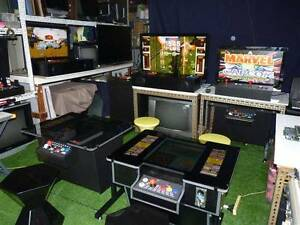 """Brand new Arcade Table  60 or 412 GAMES 2-5 Yr warranty 17""""-19"""" Stafford Heights Brisbane North West Preview"""