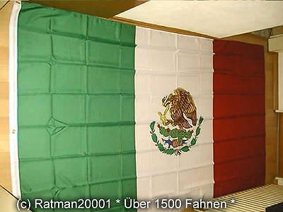 Fahnen Flagge Mexico - 2 - 150 x 250 cm