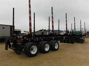 Tridem Cross Country Hay Racks (Log Trailers) For Sale or Rent