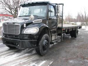 FREIGHTLINER CLASS M2 PLATE FORME 2007 INSPECTION SAAQ FEV 2019