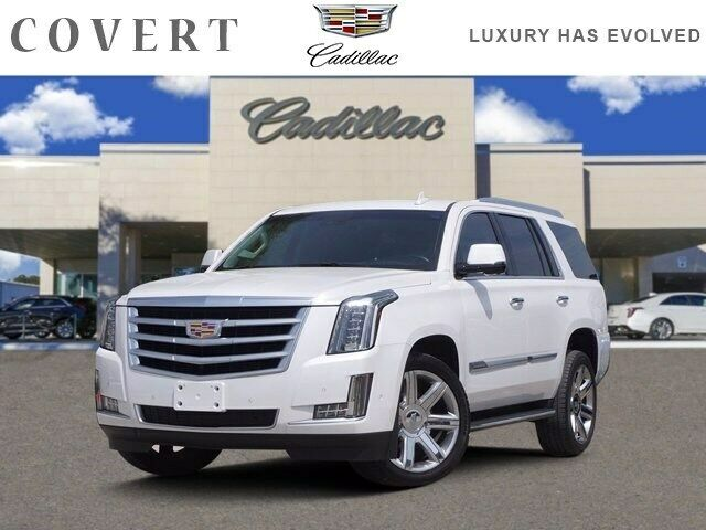 2018 Cadillac Escalade Luxury 41025 Miles Crystal White Tricoat Sport Utility Ga