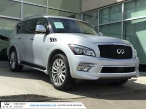 2015 Infiniti QX80 TECH/LANE DEPARTURE/AROUND VIEW MONITOR/BLIND