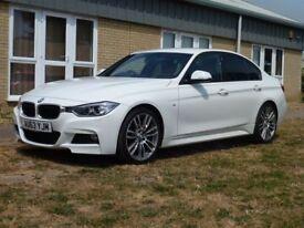 BMW 3 SERIES 2.0 320D M SPORT 4d AUTO 181 BHP 6 Months Bluechip Warranty (white) 2013