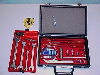 Ferrari Tool Kit_Briefcase_Oil Filter_Spark Plug Wrench_Screwdrivers_365_512_OEM