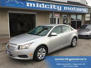 2014 Chevrolet Cruze LT/ Low KMs/ HUGE savings on gas!