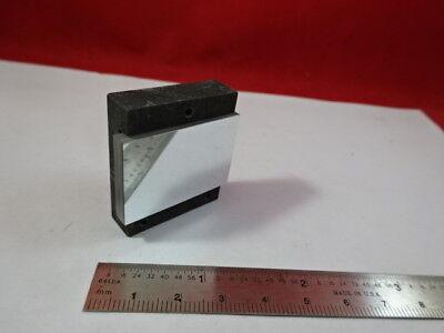 Optical Mounted Rectangular Mirror Steel Mount Optics As Pictured 92-64