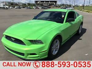 2013 Ford Mustang PREMIUM COUPE Accident Free,