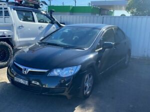 2007 HONDA CIVIC VTI AUTO MY07 BLACK ONE OWNER LOG BOOK SERVICE HISTORY  LEATHER SEATS FULL POWER OP Lansvale Liverpool Area Preview