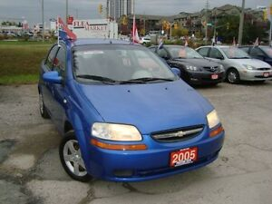 2005 Chevrolet Aveo LT Only 79km Accident & Rust Free