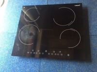 Cata touchscreen glass top hob with 6 months repair/replacement warranty