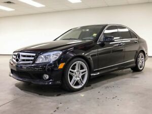 2010 Mercedes-Benz C-Class C 350 4MATIC AMG WHEELS LEATHER ROOF