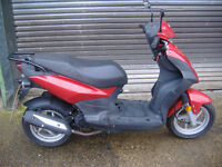 SYM SYMPLY 50 RED 2008 scooter ped moped