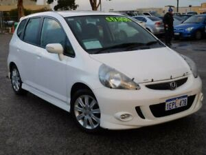 2006 Honda Jazz GD MY05 VTi-S White 7 Speed Constant Variable Hatchback Wangara Wanneroo Area Preview
