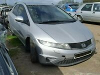 HONDA CIVIC 2006 ONWARDS BREAKING FOR SPARES TEL 07814971951 HAVE FEW IN STOCK