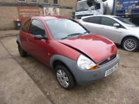 FORD KA - EG06CWC - DIRECT FROM INS CO