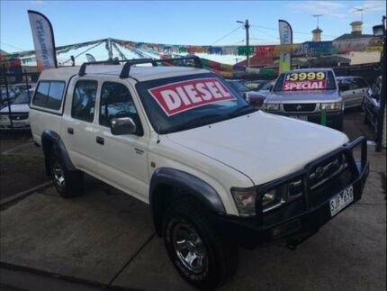 1999 Toyota Hilux LN167R SR5 (4x4) 5 Speed Manual 4x4 Footscray Maribyrnong Area Preview
