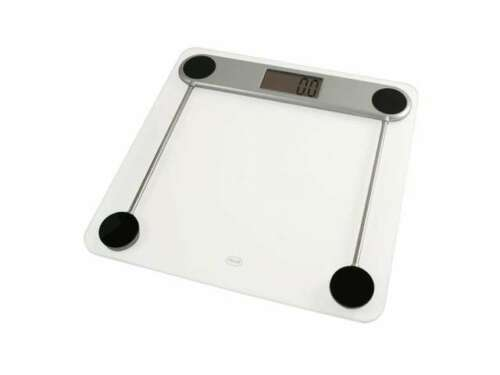 Bathroom Scale With Tempered Glass Platform Dealtrend