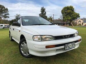 1995 Subaru Impreza N GX White 4 Speed Automatic Sedan Somerton Park Holdfast Bay Preview