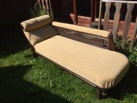 Chaise Longue, c1950's, restored, pristine condition !