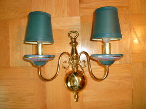 5-Piece Lighting Set:Chandelier, Sconce,Table & Swag Lamps,plate London Ontario image 3