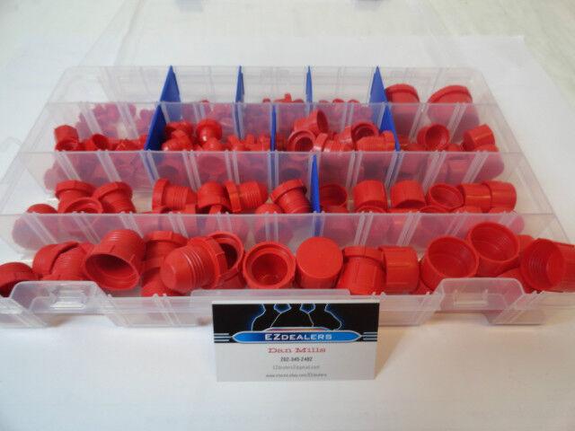 Plastic Cap & Plug Aeroquip AN style fitting Kit Set of 164pcs late model imca