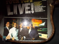 FOUR TOPS LIVE(RECORDED AT THE ROOSTERTAIL)