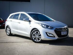 2014 Hyundai i30 GD Active Tourer Silver 6 Speed Sports Automatic Wagon Midvale Mundaring Area Preview