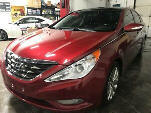 2013 HYUNDAI SONATA SE TURBO|NAVIGATION|LEATHER|BACK UP CAMERA!