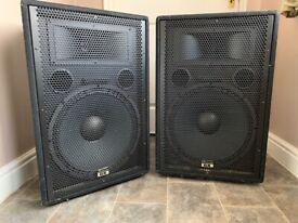 "Studiomaster GX15 - 15"" Passive PA Speaker 2 off"