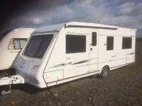 Compass Omega 544 4 berth 2007 caravan - totally immaculate condition - all included - ready to use