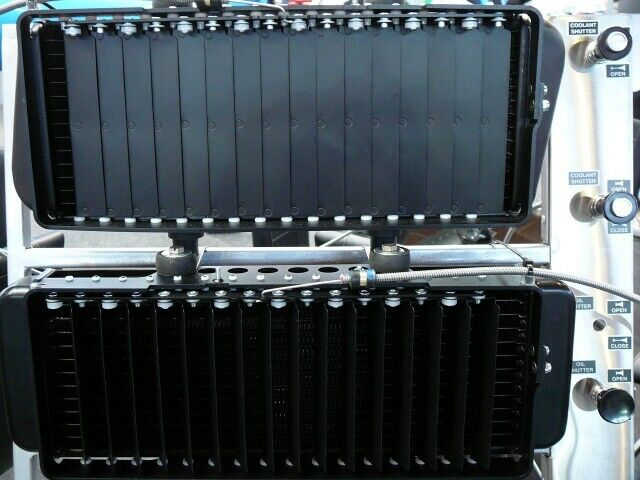 Shutter for Coolant Radiator  (for ROTAX 912/914 engine.)