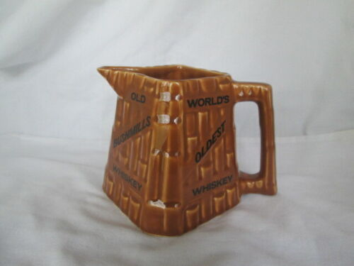 Old Bushmills Irish Whiskey Pitcher Vintage Rare Arklow Product Made in England